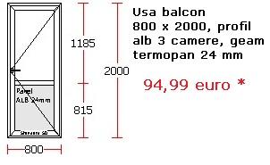 Usa balcon